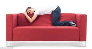 sofa for person what does your sofa sitting position say about your