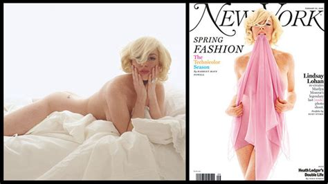 Lindsay Lohan Re Creates Marilyn Monroes Last Sitting For New York Magazine by Marilyn Milestones 15 Of The Icon S Pop