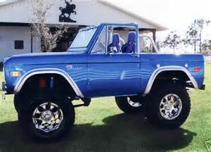 1974 ford bronco convertible barrett jackson auction