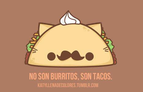 imagenes de tacos kawaii tacooos me encantan los tacos we heart it tacos and