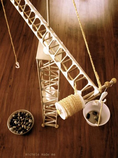 how to build a boat middle school project 12 best building a crane school project images on