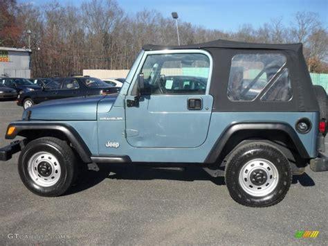 gunmetal jeep 1999 gunmetal pearlcoat jeep wrangler se 4x4 28059529