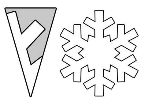 best 25 snowflake template ideas on pinterest paper