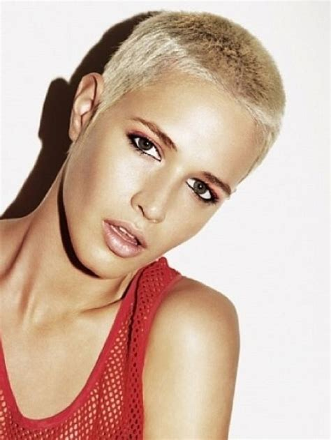 pictures of a number 8 haircut on ladies 106 best buzz board images on pinterest bald women