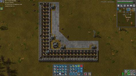 3 Tileable Turret Tileable Walls with Roboport Blueprints ... T 34 Blueprints