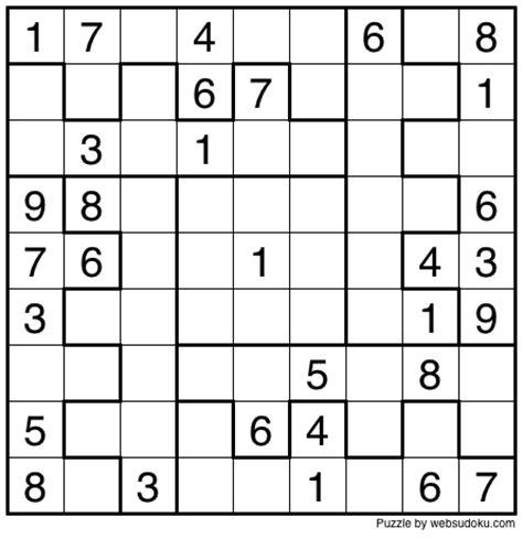 printable web sudoku web sudoku printable daily sudoku variation