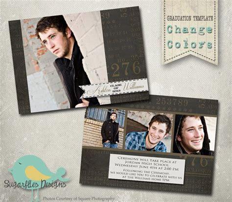 senior announcement templates 44 best event graduation images on card