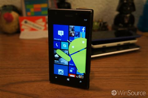 android apps on windows phone is microsoft possibly bringing android apps to windows phone a thing