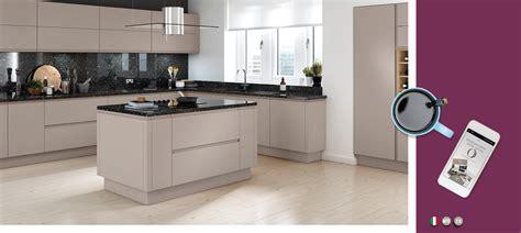 trend kitchen collection lucente matt cashmere