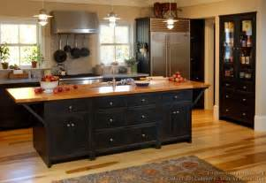 American Kitchen Ideas Pictures Of Kitchens Traditional Black Kitchen Cabinets Kitchen 10