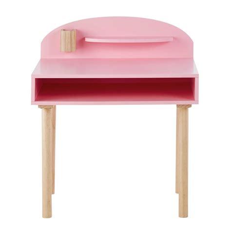 bureau enfant en bois bureau enfant en bois l 70 cm nuage maisons du monde