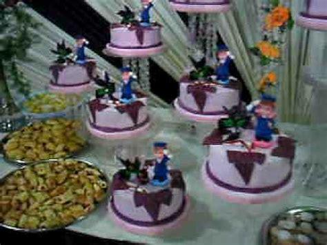 imagenes de decoracion de fiestas de promocion tortas de promocion para colegios youtube