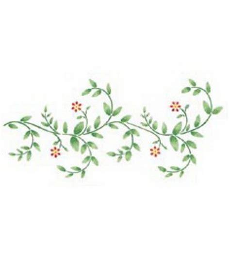 Decorative Vine Flowers stencil magic decorative stencils delicate vine border jo