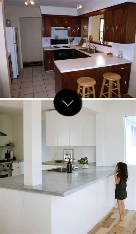 Before And After Makeover Pictures Of Our Single Our Favorite D S Kitchen Makeovers Design Sponge