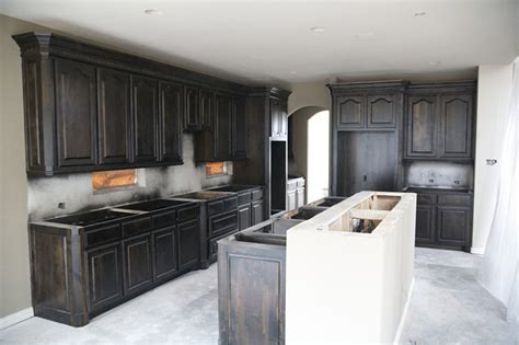 Black Stained Kitchen Cabinets Black Kitchen Cabinets For Sale Images