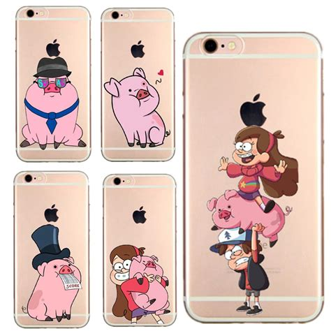 Casing Hardcase Hp Iphone 5s Gravity Falls Bill Cipher X4424 mabel gravity falls 3 soft tpu transparent cover for iphone 7 7 plus 5 5s se 6 6s 6plus