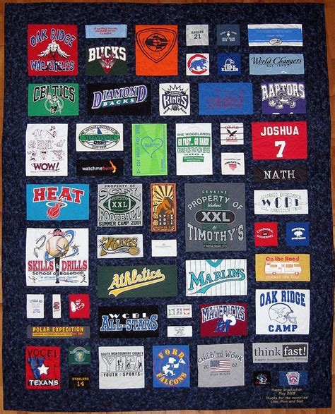 t shirt quilt upcycle tshirt pinterest