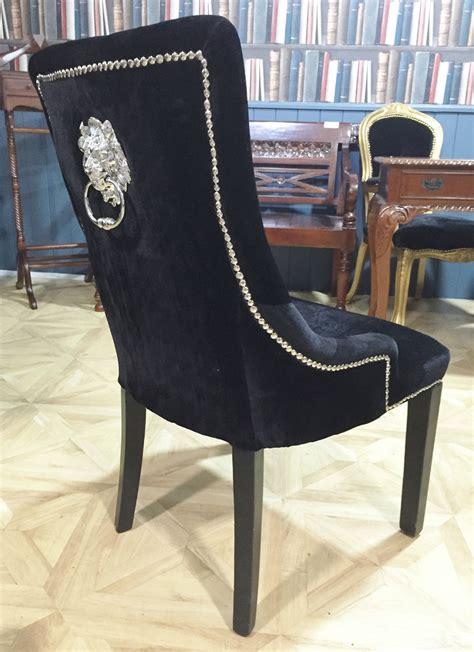 black velvet dining chairs australia knocker chair black velvet sliver button luxury