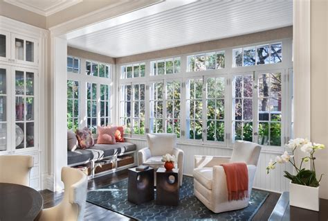 hyde park renovation transitional sunroom chicago