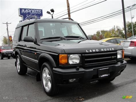 black land rover discovery 2002 java black land rover discovery ii se 38690445 photo