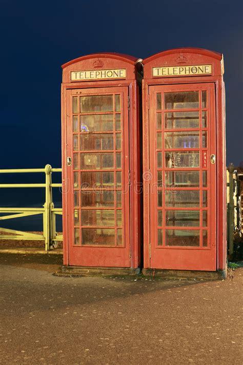 cabine telefoniche inglesi cabine telefoniche inglesi immagine stock immagine di