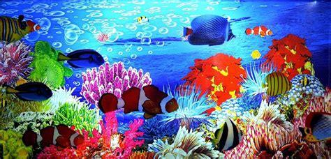 living fish aquarium moving motion artificial tropical