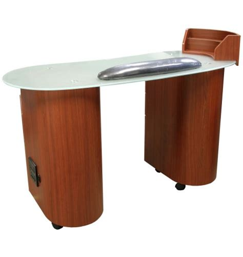 Manicure Table L Lanier Manicure Table In Cherry