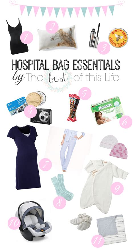 things to pack in hospital bag for c section what to pack in your hospital bag the best of this life