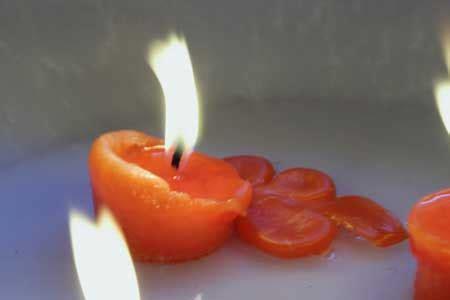 candele magiche candele magiche interpretiamo la cera fusa rimane