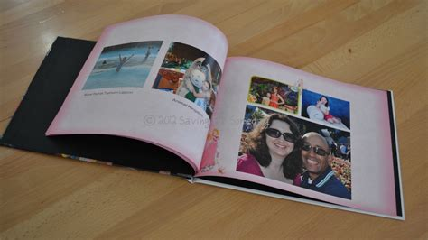 photo book from pictures preserving disney memories