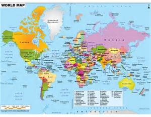 Where Can I Buy A World Map by Buy World Map Online