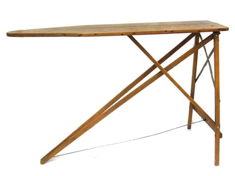 Ironing Board Table antique wood ironing board sofa table industrial decor