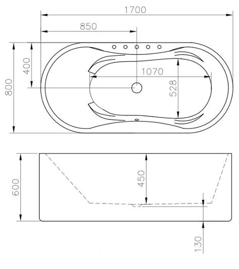 dimensioni vasche da bagno vasca da bagno ad appoggio fenice