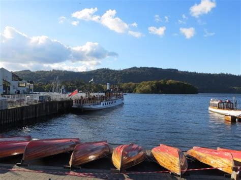 public boat launch windermere our steamer back to ambleside from bowness picture of