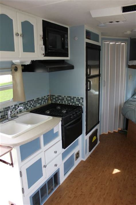 trailer bathroom remodel 27 amazing rv travel trailer remodels you need to see