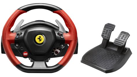 Xbox One Thrustmaster Vg 458 Spider Racing Wheel thrustmaster 458 spider racing wheel pour xbox one gamerstuff fr