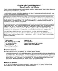 doc 580630 biopsychosocial assessment template sample
