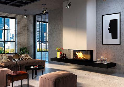 chimeneas en salones chimeneas en salones modernos salon pequeo bien decorado