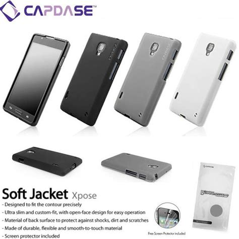 Sale Capdase Softjacket Xpose Lg L7 Dual P713 Free Screenguard 1 jual sale capdase softjacket xpose lg l7 dual p715 free screenguard original di lapak