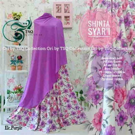 Gamis Anak Muslim Syari Motif Setelan Pesta Anak Bahan Berkualitas gamis cantik shinta syar i motif bunga baju muslim terbaru
