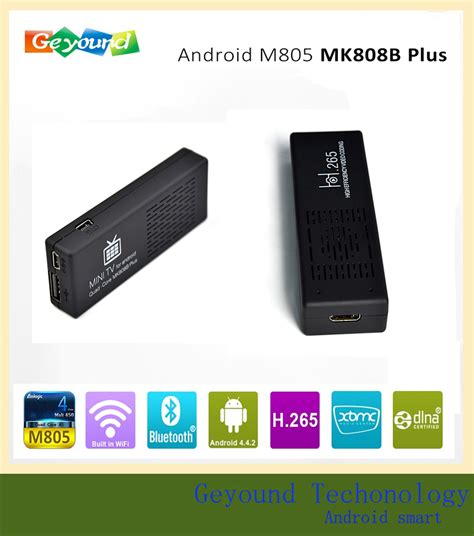 best android tv stick best android tv stick amlogic m808b 1gb 8gb tv stick with price buy