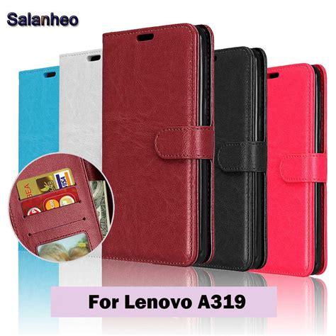 Leathercase Flip Lenovo A319 1 aliexpress buy flip cover for lenovo a319 phone cases pu leather for lenovo a 319