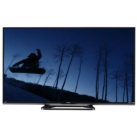 Tv Sharp Led 43 sharp lc43le653u rb aquos refurbished 43 quot class 1080p led smart hdtv lc 43le653u