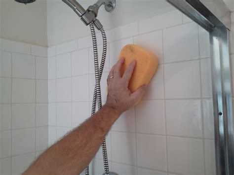 how to whiten bathroom grout cleaning shower grout how to clean shower tile grout