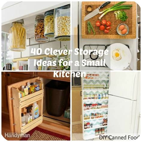 Storage Ideas For A Small Kitchen 17 Best Images About Diy Diy Diy On Pinterest