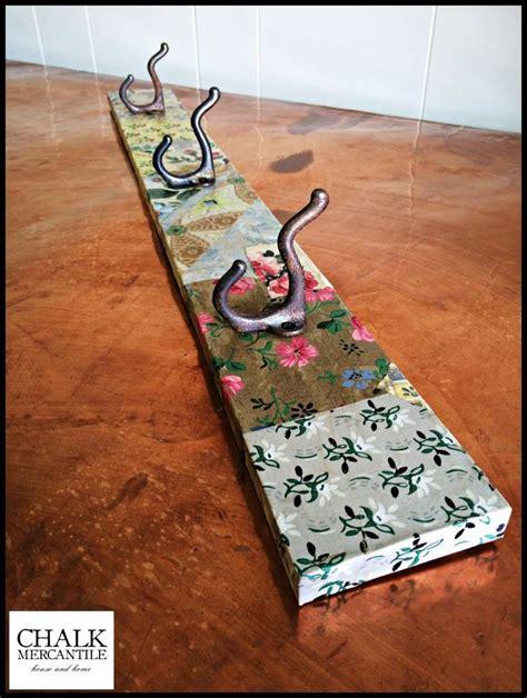pinterest leftover wallpaper vintage wallpaper coat hook diy wallpaper crafts
