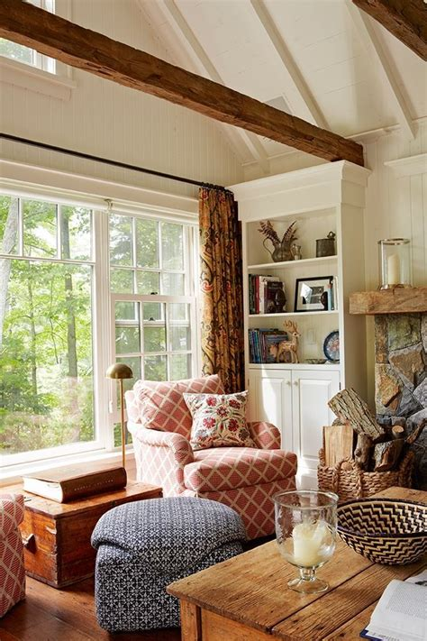 natural light  wood accents bring rustic charm