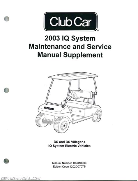 what is the best auto repair manual 2003 toyota 4runner electronic valve timing 2003 club car iq system maintenance service manual supplement