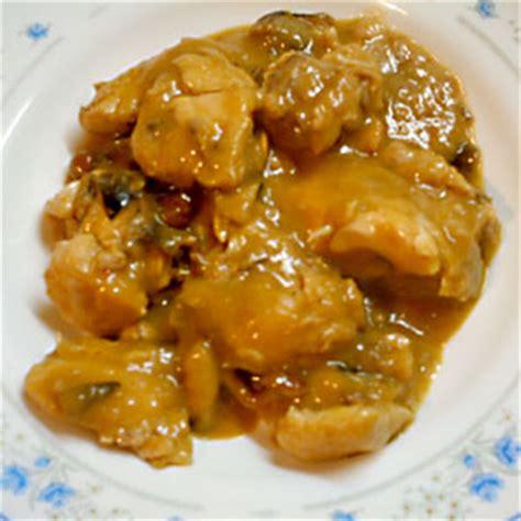 cocina pollo en salsa pollo en salsa receta de cocina