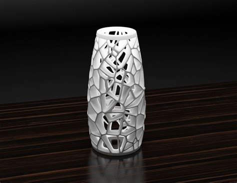 awesome Buy 3d Printed House #1: voronoi-lamp-2-3d-model-stl.png